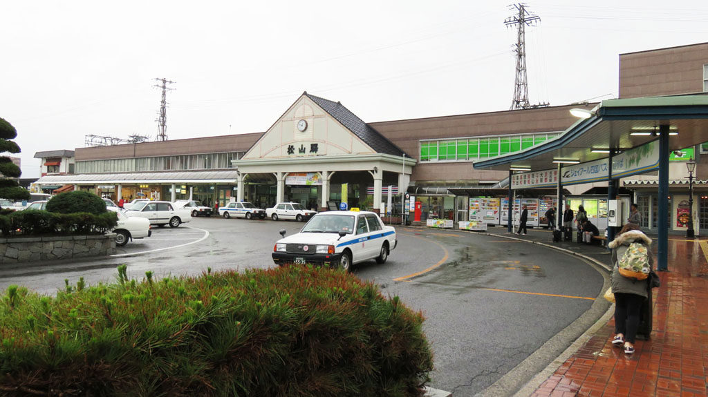 愛媛県松山駅