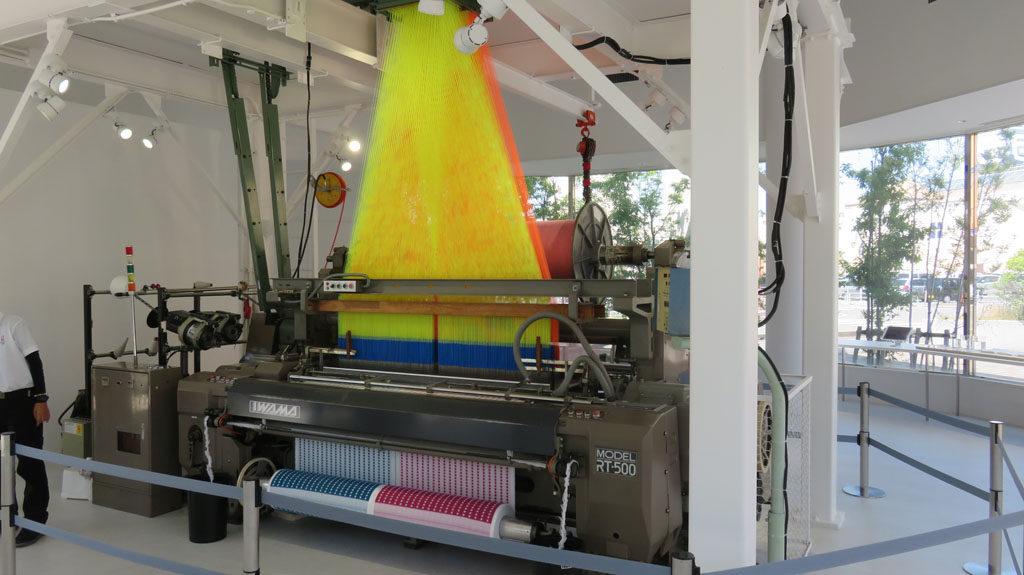 愛媛県 タオル織り機
