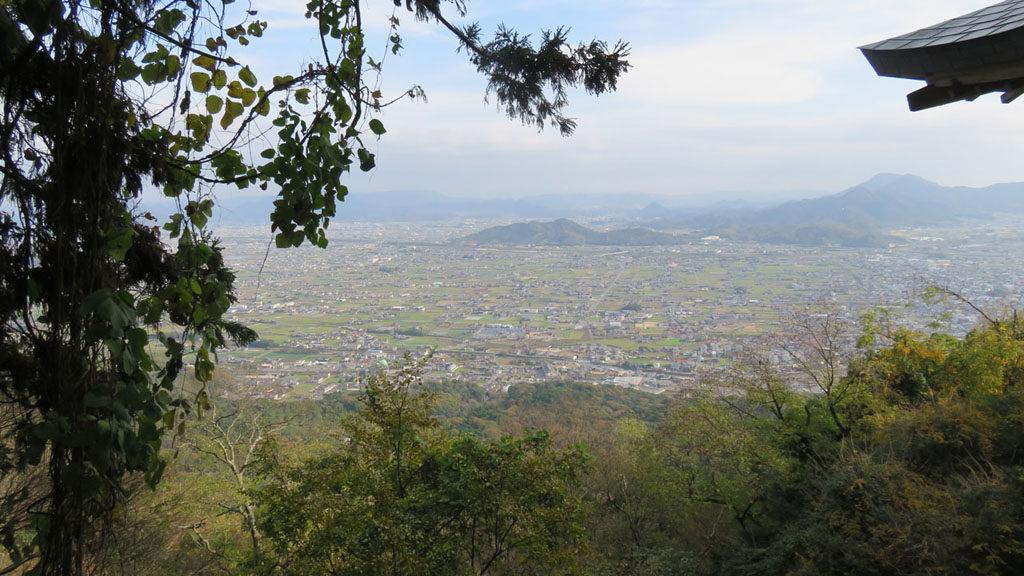 香川県奥社からの眺望